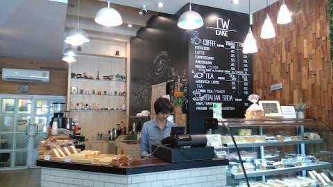 TWcafe店内